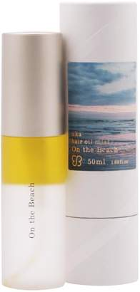 uka Hair Oil On the Beach with UV Protection