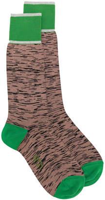 No.21 patterned socks