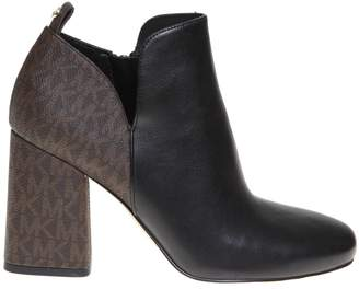 Michael Kors Dixon Leather Ankle Boot