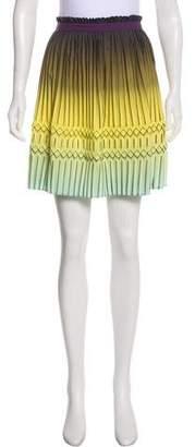 Etro Ombré Pleated Skirt