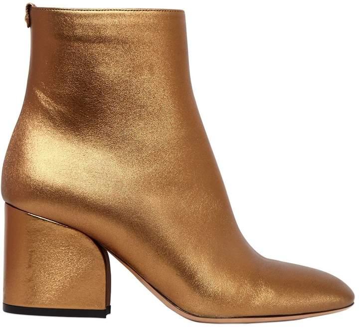 70mm Pisa Metallic Leather Boots