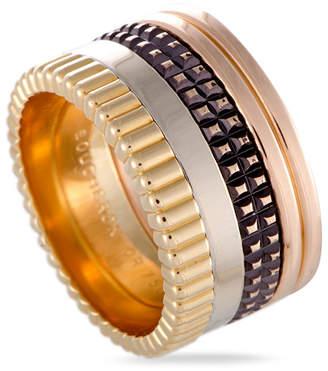 Boucheron Heritage  18K Tri-Color Ring