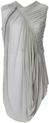 Rick Owens Lilies gathered waist sleeveless blouse