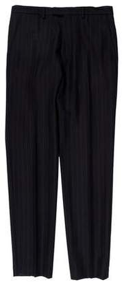 Dries Van Noten Striped Wool Pants