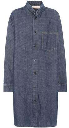 Marni Cotton and linen denim dress