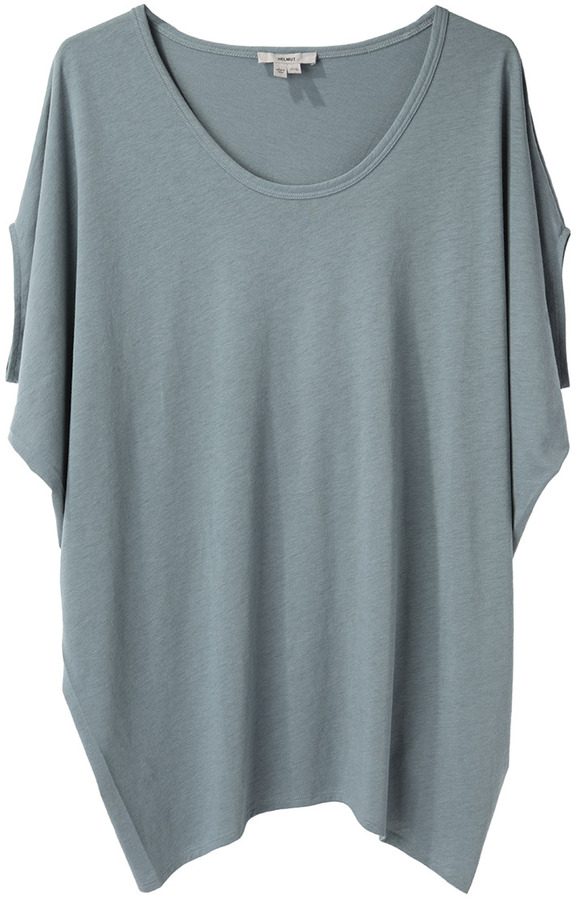 Helmut Lang HELMUT Feather Jersey Oversize Top