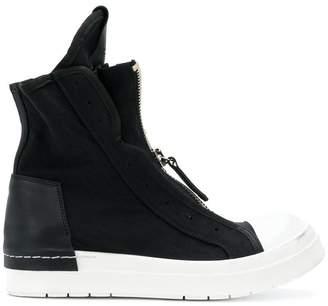 Cinzia Araia zipped hi-top sneakers
