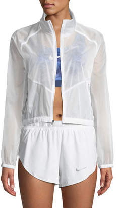 Nike Transparent Front-Zip Performance Jacket