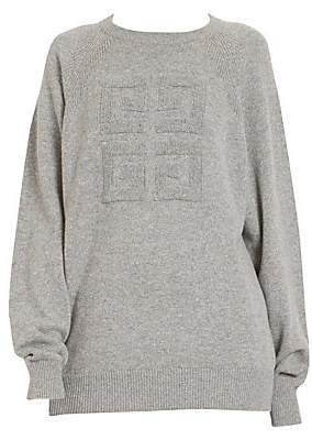Givenchy Women's Logo Cashmere Sweater