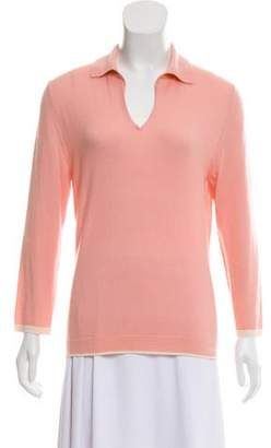 Agnona Long Sleeve Cashmere Sweater
