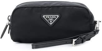 Prada logo make up bag