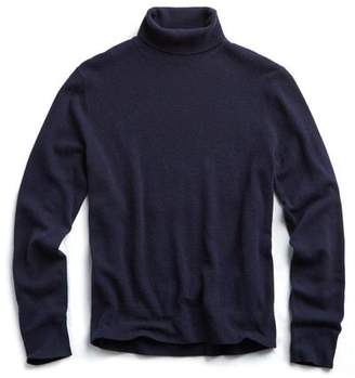 Todd Snyder Cashmere Turtleneck in Navy