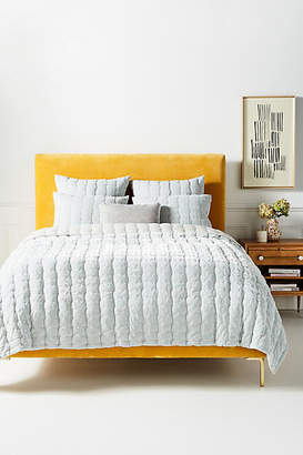 Anthropologie Ellery Burnout Velvet Quilt