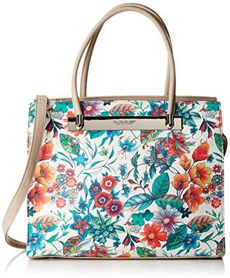 Chicca borse 80042, Women's Top-Handle Bag, Grigio