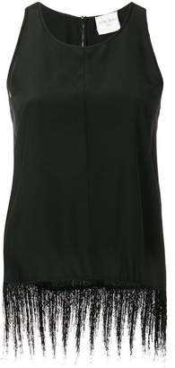 Forte Forte fringed sleeveless top