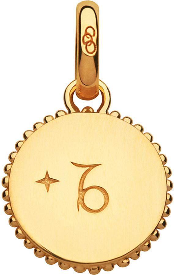 Links Of London Capricorn 18ct yellow-gold vermeil zodiac charm