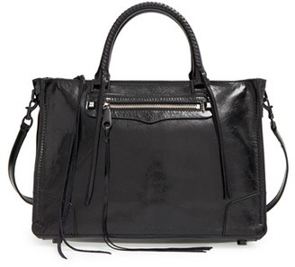 Rebecca Minkoff 'Regan' Satchel - Black $325 thestylecure.com