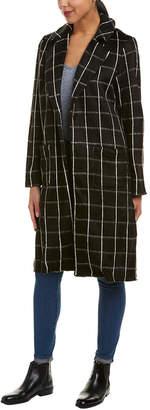Michael Stars High Slit Coat
