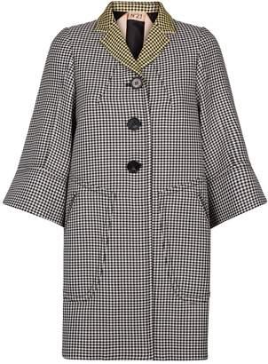 N°21 N 21 Houndstooth Coat