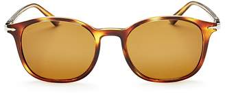 Persol Officina Collection Polarized Square Sunglasses, 50mm