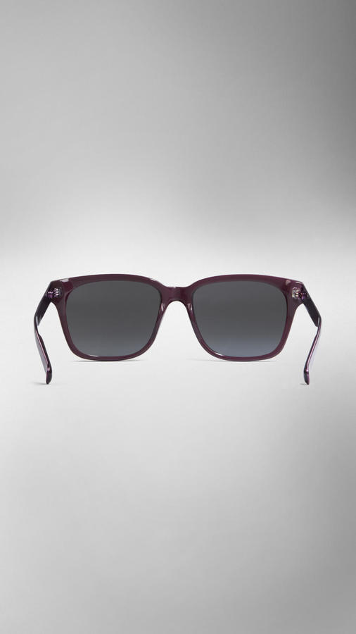 Burberry Spark Square Frame Sunglasses