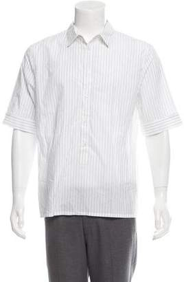 Helmut Lang Striped Button-Up Shirt w/ Tags
