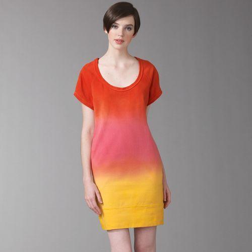 Diane von Furstenberg El Shane Tie-Dye Dress