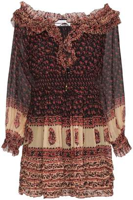 Zimmermann silk ruffle mini dress