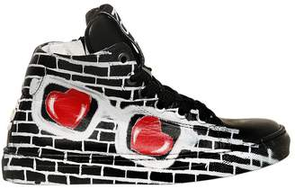 Sunglasses Print Nappa Leather Sneakers