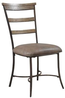 Hillsdale Furniture Charleston Ladder Back Dining Chairs, Set of 2, Desert Tan Finish