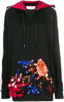 NO KA 'OI No Ka' Oi embellished pocket hoodie