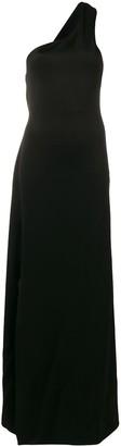 Lanvin one-shoulder jersey dress