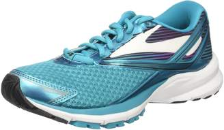 Brooks Women's Adrenaline GTS 18 D Running Shoe (BRK-120268 1D 3935160 7.5 EBO/SIL/PNK)