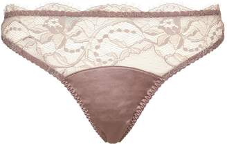 Fleur of England Lace Thong