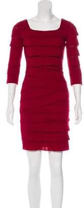 Max Studio Tiered Sheath Dress