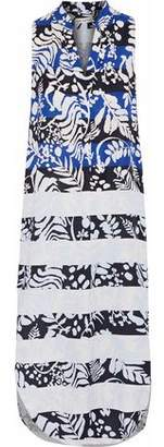 Mara Hoffman Printed Twill Midi Dress