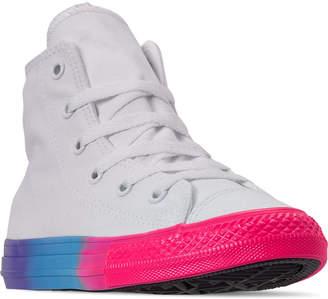 f08301c1d Converse Girls' Little Kids' Chuck Taylor High Top Glitter Casual Shoes