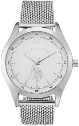 U.S. Polo Assn. Men's Mesh Watch