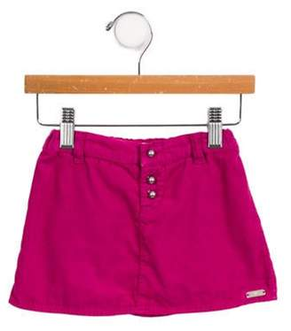Armani Junior Girls' Corduroy Skirt magenta Girls' Corduroy Skirt