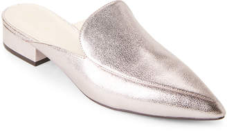 Cole Haan Metallic Pink Piper Loafer Mules