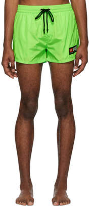 Diesel Green BMBX-Sandy Swim Shorts