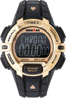 Timex TW5M06300 Gold-Tone & Black Ironman Watch