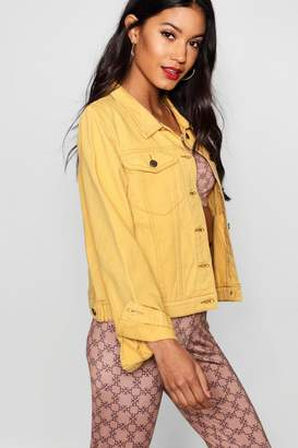 boohoo Pocket Denim Jacket