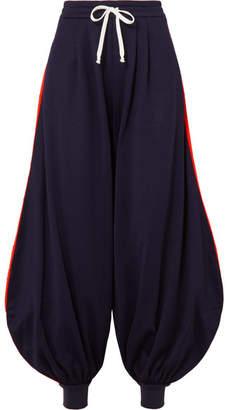 Gucci Striped Jersey Track Pants - Blue