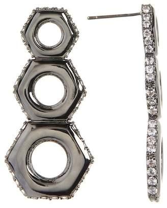 Liza Schwartz Nut Drop Earrings