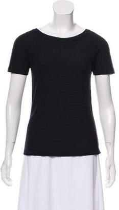 Giorgio Armani Short Sleeve Knit Top