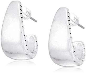 The Sak Women's Small Post Hoop Earrings