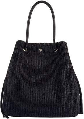 Helen Kaminski Raffia Crochet Tote Bag