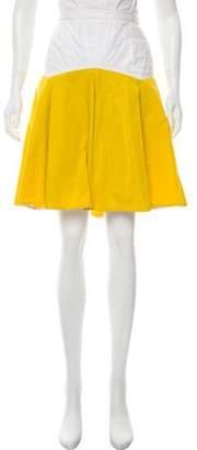 Thakoon Belted Knee-Length Skirt