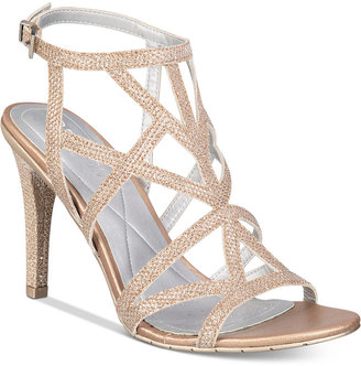 Kenneth Cole Reaction Women's Smash-ing Strappy Dress Sandals $89 thestylecure.com